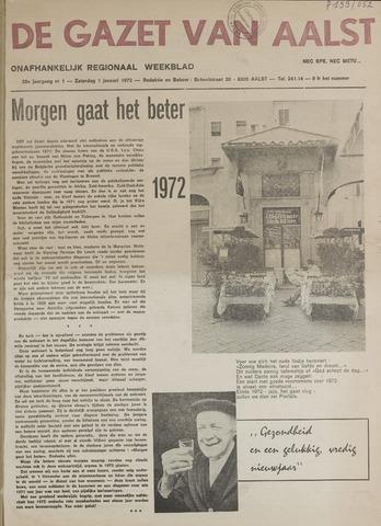 De Gazet van Aalst 1972