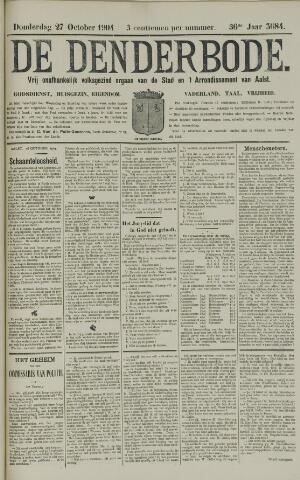 De Denderbode 1904-10-27