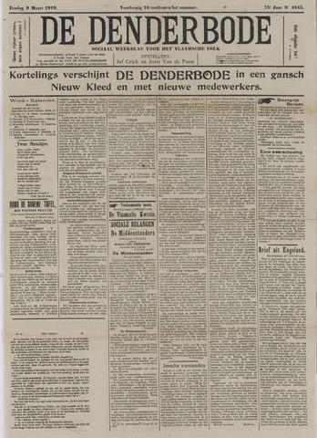 De Denderbode 1919-03-09