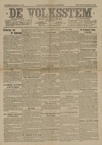 De Volksstem 1914-08-22