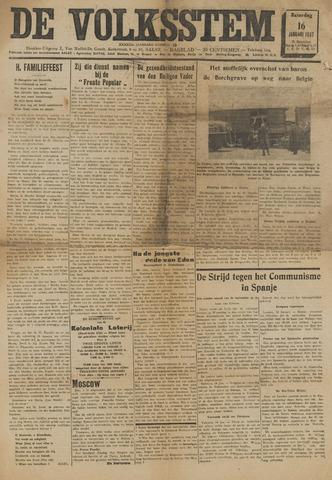 De Volksstem 1937