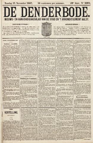 De Denderbode 1887-11-13