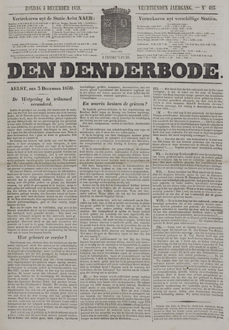 De Denderbode 1859-12-04