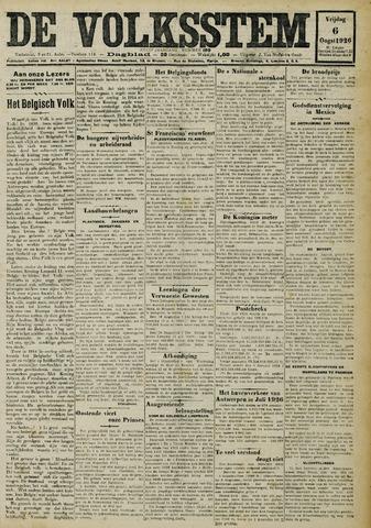 De Volksstem 1926-08-06