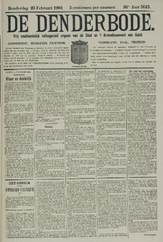 De Denderbode 1904-02-25