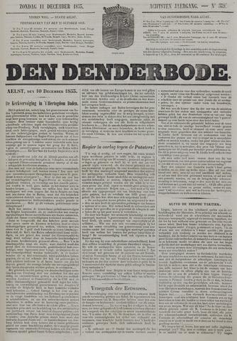 De Denderbode 1853-12-11