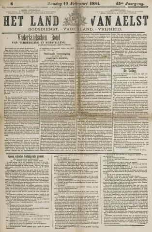 Het Land van Aelst 1884-02-10