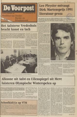 De Voorpost 1991-12-13