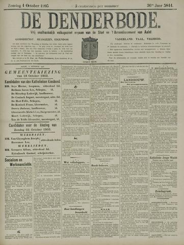 De Denderbode 1903-10-04