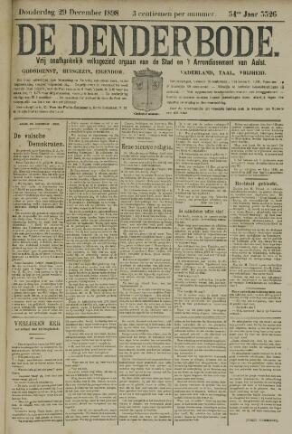 De Denderbode 1898-12-29