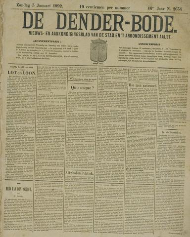 De Denderbode 1892