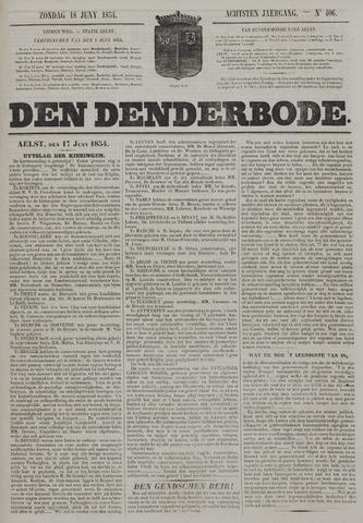 De Denderbode 1854-06-18