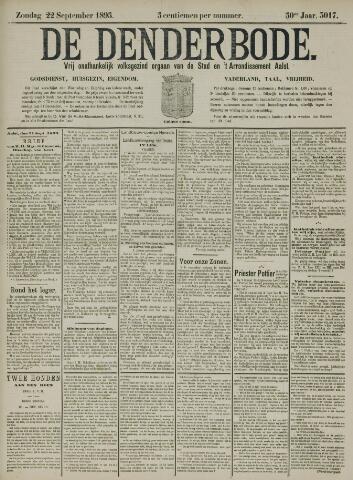 De Denderbode 1895-09-22