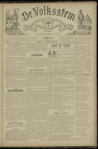 De Volksstem 1895-02-15