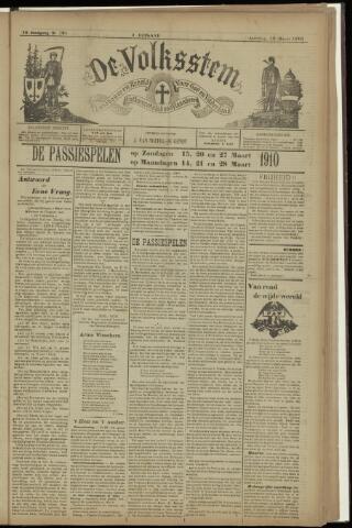 De Volksstem 1910-03-12