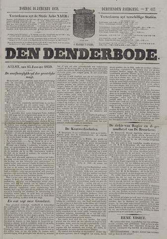 De Denderbode 1859-01-16