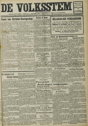 De Volksstem 1931-10-25