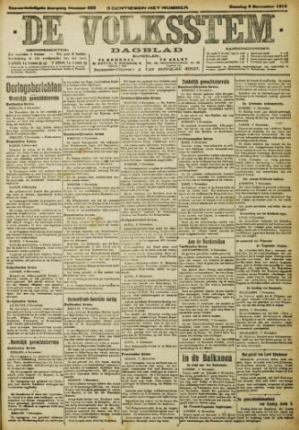 De Volksstem 1915-11-09