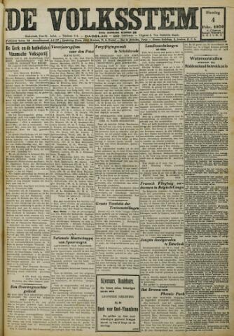 De Volksstem 1930-02-04