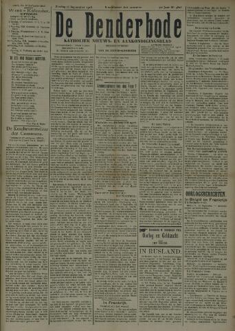 De Denderbode 1918-09-15