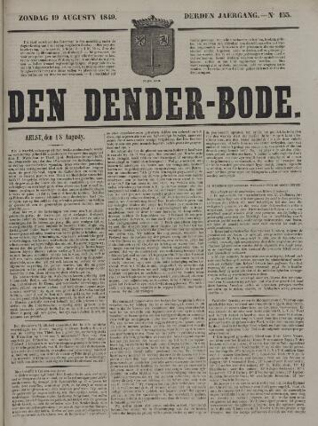 De Denderbode 1849-08-19