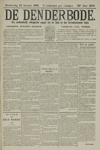 De Denderbode 1895-01-24