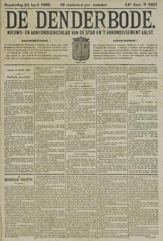 De Denderbode 1890-04-24