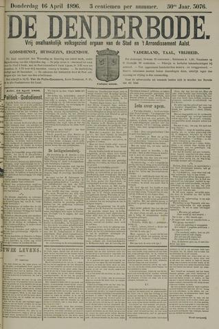 De Denderbode 1896-04-16