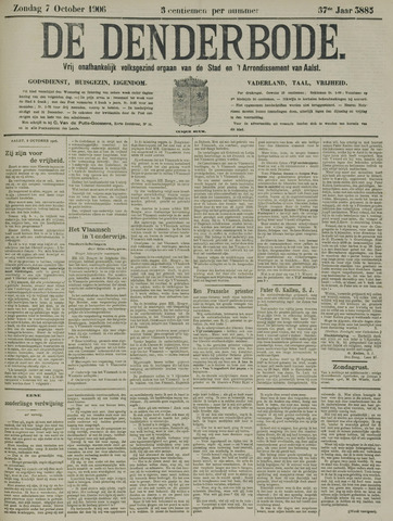 De Denderbode 1906-10-07
