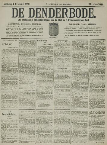 De Denderbode 1906-02-04