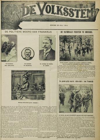 De Volksstem 1914-07-26