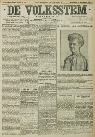 De Volksstem 1910-09-21
