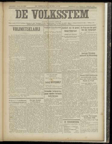 De Volksstem 1941-02-13
