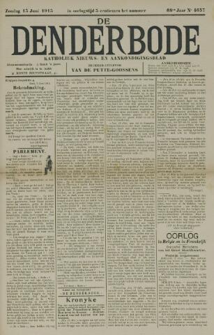 De Denderbode 1915-06-13