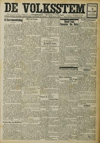 De Volksstem 1926-06-03