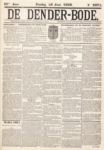De Denderbode 1886-06-20
