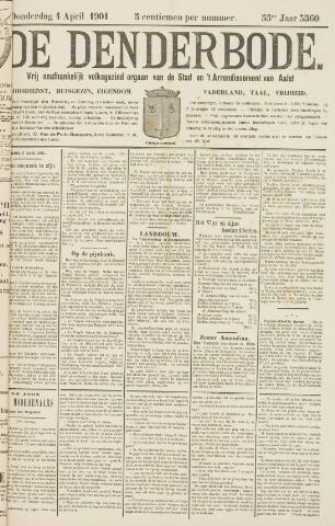 De Denderbode 1901-04-04