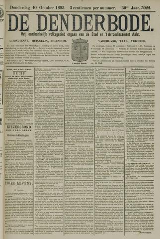 De Denderbode 1895-10-10
