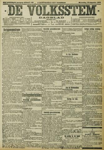 De Volksstem 1915-08-18