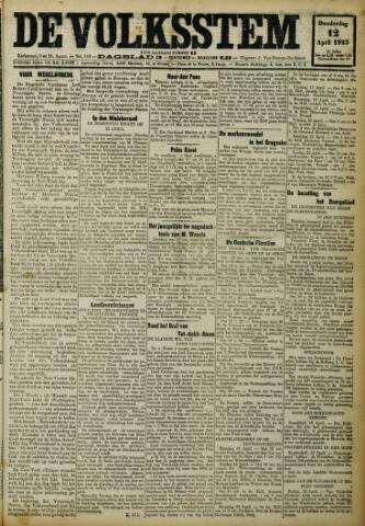 De Volksstem 1923-04-12
