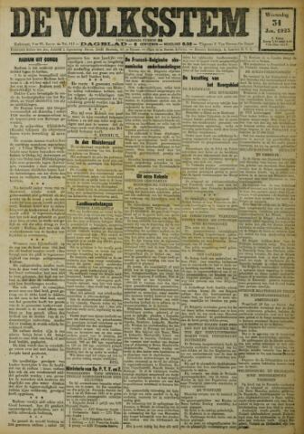 De Volksstem 1923-01-31
