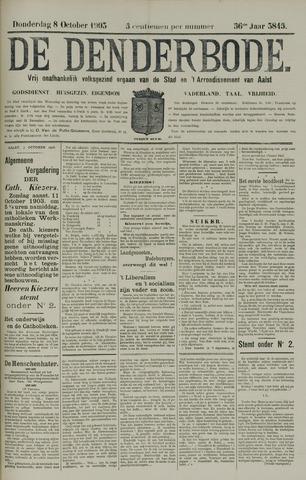 De Denderbode 1903-10-08
