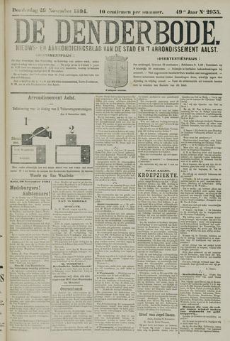 De Denderbode 1894-11-29