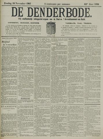 De Denderbode 1907-11-10