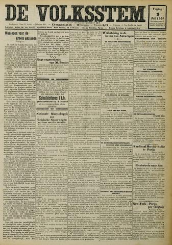 De Volksstem 1926-07-09