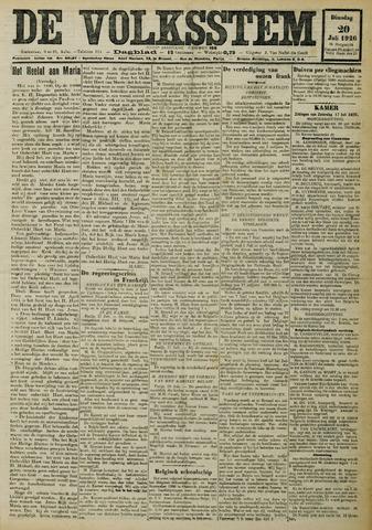 De Volksstem 1926-07-20