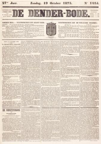 De Denderbode 1873-10-19