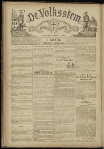 De Volksstem 1895-09-14