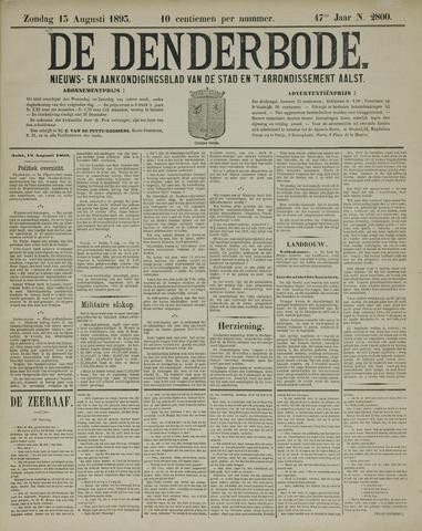 De Denderbode 1893-08-13
