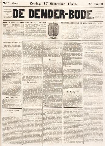 De Denderbode 1871-09-17